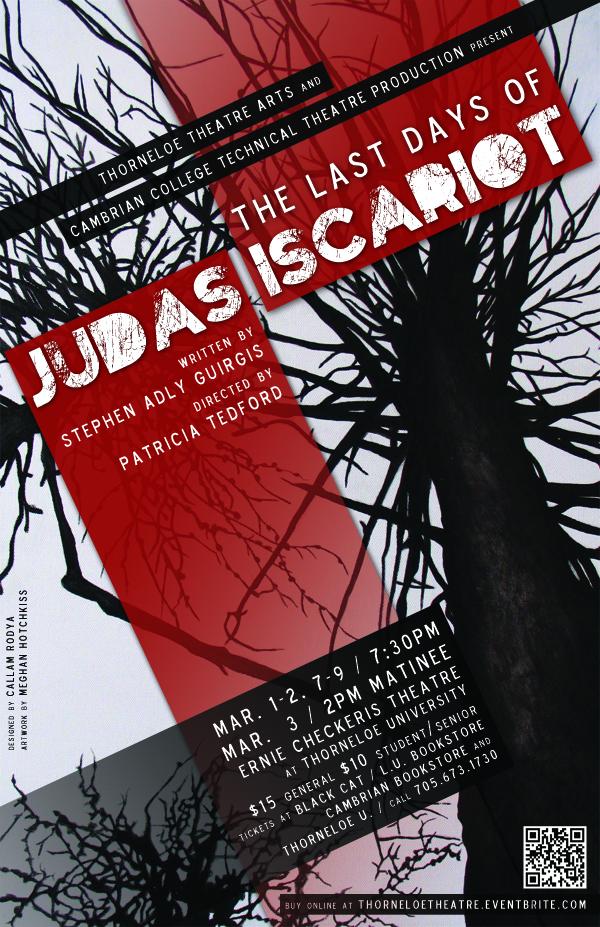 Judas Poster Art