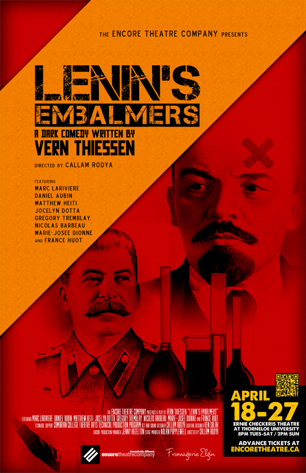 Lenin's Embalmers Production Poster